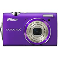 Nikon Coolpix S5100 12 MP Digital Camera with 5x Optical Vibration Reduction (VR) Zoom and 2.7-Inch LCD (Purple) Explained Review Image