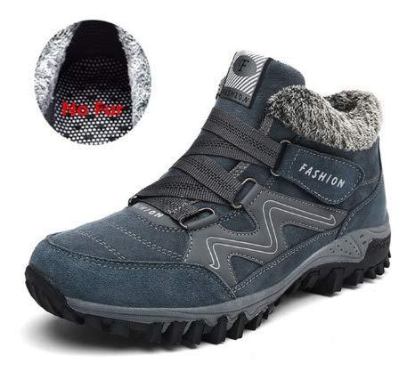 FHCGMX Winterstiefel Männer Mode Schneeschuhe Schuhe Männer Plus Größe Freizeitschuhe Für Stiefeletten Männliche Warme Liebhaber Lässig