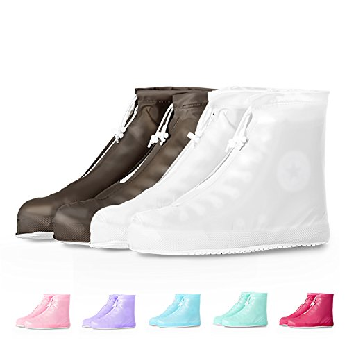 HaloVa Waterproof Shoes Cover Rain Snow Women Men Boots Covers