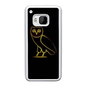 HTC One M9 Cell Phone Case White Drake Ovo Owl ST1YL6716825