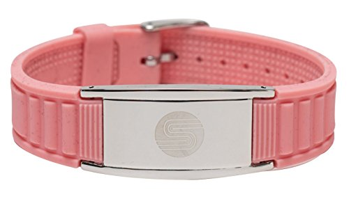 Satori 4 in 1 Negative Ion Band (Pink), Now Available in US with a 4.5 Star Amazon Rating in UK/Euro, Germanium, Silicone,Charged with Negative Ions, The Ionic Wristband and Stylish Therapy Bracelet