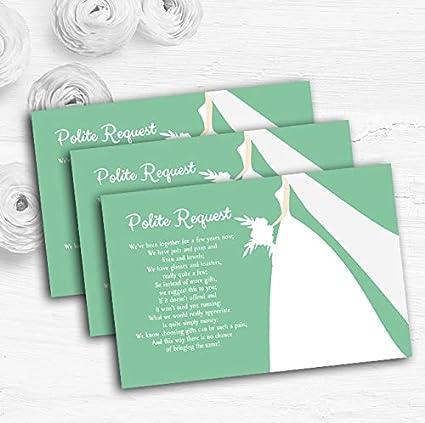 Tarjetas de poema personalizables para boda, regalo de boda ...