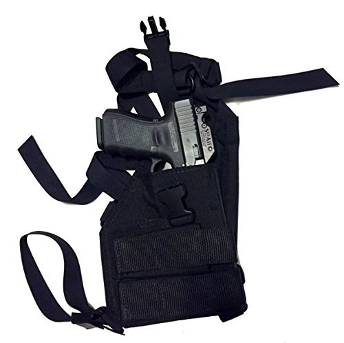 Man Gear Alaska Ultimate Chest Holster - Gen2 MTU 1911 with two mag pouches (Right Hand)