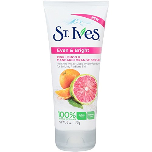 St. Ives Even and Bright Pink Lemon and Mandarin Orange Face Scrub 6oz - 2