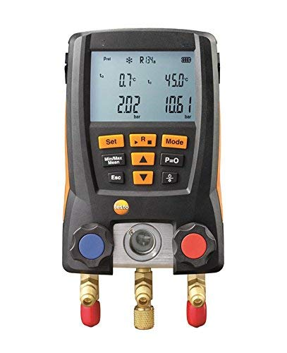 - Digital Manifold Gauge, 2 Valves,System for HVAC With Soft Case KCH20 (Just Digital Manifold)