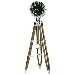 Howard Miller 615-071 Chaplin II Desk & Shelf Clock