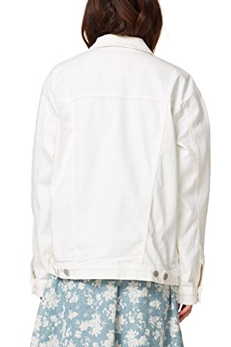 off White Bianco Donna Giacca Esprit 110 Jeans In X1Yqzx