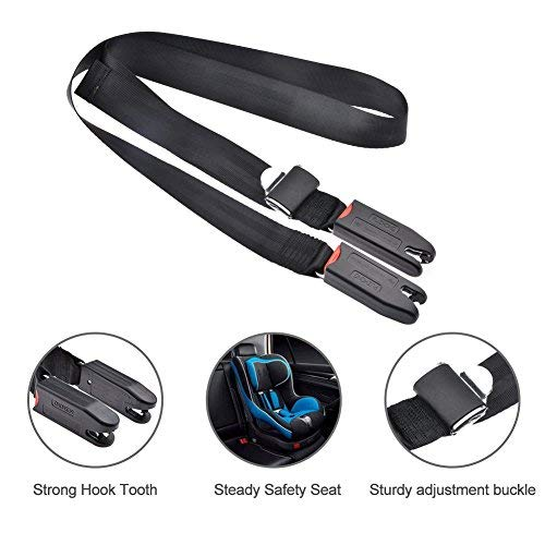 WZTO ISOFIX Belt Latch Car Child Baby Safe Seat Strap Durable Polyester Nylon Adjustable General Isofix Interface Straps