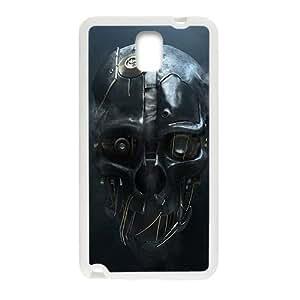 Custom Cool dishon Mask Skull Diseño supervisada for Samsung Galaxy Note 3