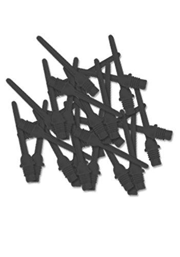 Empire Key-Point 2BA - Punta corta para dardos, color negro Empire Dart