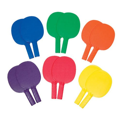 Table Tennis Paddles (12-Pack) by Gamecraft