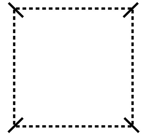 Displays2go Wire Grid Panel for Artwork, Iron Metal Construction, Powder Coated – Silver Finish (AD4PNLS) by Displays2go (Image #5)