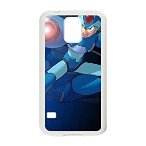 Blue cool Rockman Cell Phone Case for Samsung Galaxy S5