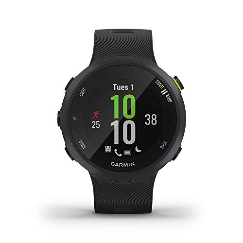 Garmin Forerunner 45s, 39MM Easy-to-Use GPS Running Watch with Garmin Coach Free Training Plan Support (Renewed)