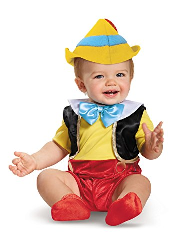 Disguise Baby Boys' Pinocchio Infant Costume, Multi, 6 to 12 Months -