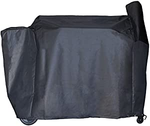 BBQ Butler Pellet Grill Smoker Cover for Traeger Pro 22 Series - Heavy-Duty - Black by famous BBQ Butler