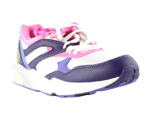 PUMA Women's Trinomic R698 Sport Fashion Sneaker,Fluorescent Pink,9.5 B US (Puma Trinomic Women)