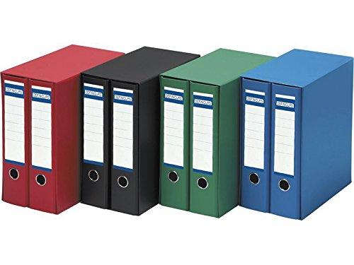 Definiclas 950066 - Pack de 2 archivadores, color verde: Amazon.es: Oficina y papelería