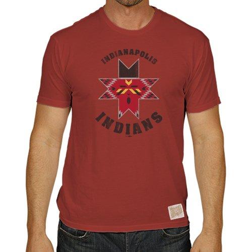 Minor League Baseball Indianapolis Indians Men's T-Shirt, X-Large, - Indian Indianapolis Clothing