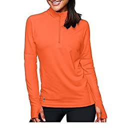 Duofold by Champion THERMatrix™ Women's 1/4 Zip Pullover_Electric Orange_L