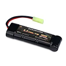 MELASTA 8.4V 1800mAh Ni-MH High Power Battery Packs with Mini Tamiya Discharge Connector for RC Racing Cars