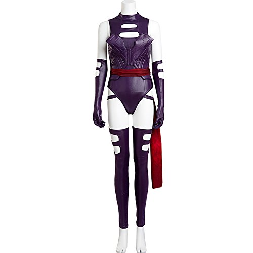 AGLAYOUPIN Women Lether Sexy Jumpsuit Uniform Dress Costume Halloween