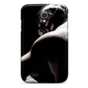 Protective Hard Cell-phone Cases For Samsung Galaxy S4 With Provide Private Custom Lifelike Tom Hardy As Bane In Dark Knight Rises Series MansourMurray
