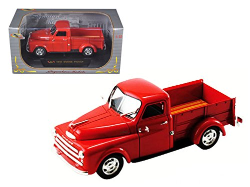 StarSun Depot 1948 Dodge Pickup Truck Red 1/32 Model Car by Signature Models