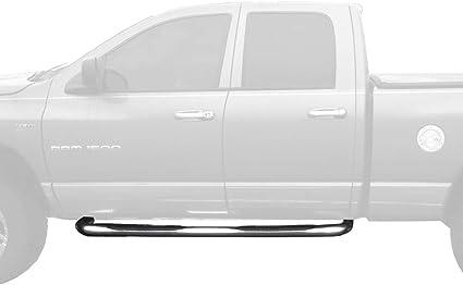 "For 94-01 Dodge Ram 1500 2500 3500 Club//Quad Cab 3/"" Side Steps Nerf Bars Black"