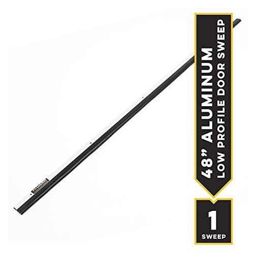XCLUDER 162520 Low Profile Pest Control Door Sweep, 48, Aluminum