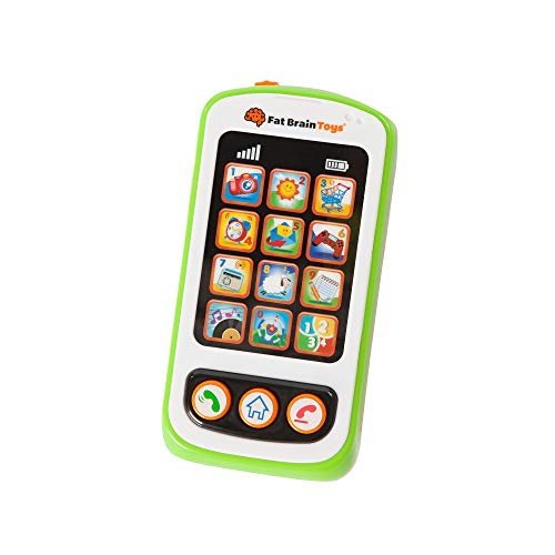Fat Brain Toys My Little Smarty Phone Baby Toys & Gifts for Ages 1 to 2