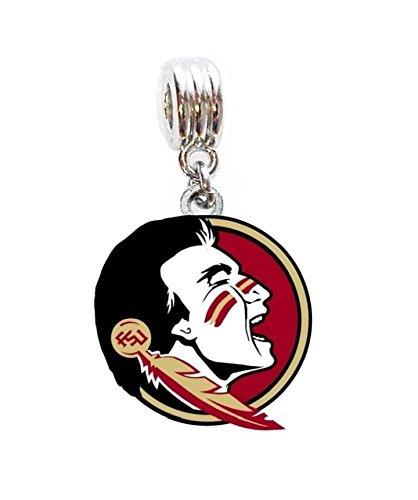 Pendant Fsu Seminoles (Heavens Jewelry FSU FLORIDA STATE UNIVERSITY SEMINOLES TEAM CHARM PENDANT ADD TO NECKLACE CLOTHING ACCESSORY PET COLLAR DIY ETC)