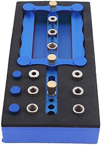 DIY・工具・ガーデン|||電動工具・エア工具|||電動工具パーツ・アクセサリ|||ドリルアクセサリ|||アタッチメント|||ドリルスタンド HKUN ドリルガイド 位置決めガイド ガイドプレート 補助プレート 木工 掘削 調整可能 6mm 8mm 10mm 木工ツールセット ブルー