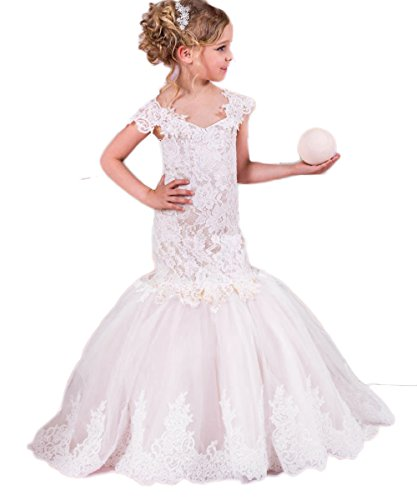 mermaid flower girl dresses - 6