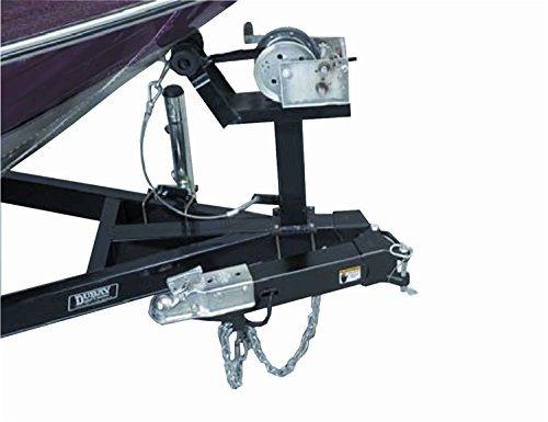 Fulton Fold-Away Bolt-On Hinge Kit, 3 x 4-Inch Trailer Beam, Zinc Finish, Holds up to 7500-Pound