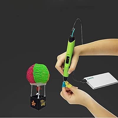 BHDYHM Pluma 3D, 3D Mejorada M1 Pluma de impresión for los niños ...