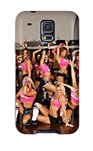 Premium Miami Heat Cheerleader Basketball Nba Back Cover Snap On Case For Galaxy S5