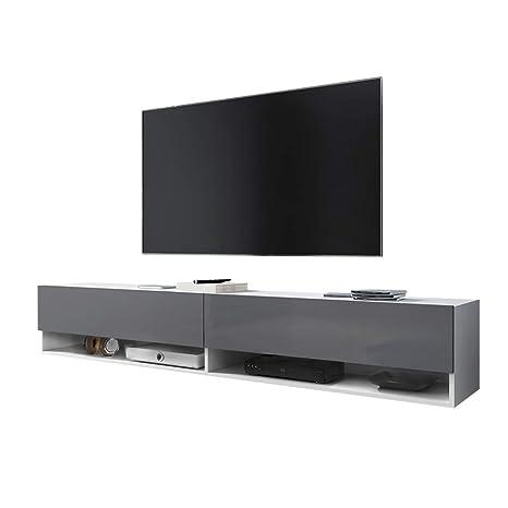 Mobile Porta Tv Sospeso Moderno.Selsey Wander Mobile Tv Sospeso Porta Tv Stile Moderno
