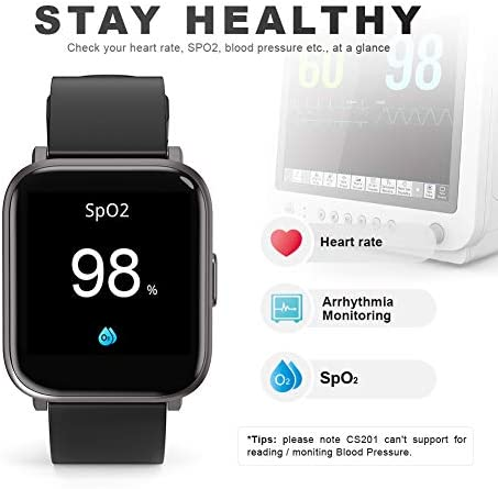 Smart Watch, UXD Fitness Activity Tracker with Sleep Heart Rate Monitor for Men Women 5ATM Waterproof Pedometer Smartwatches for iPhone Samsung Android Phones 3