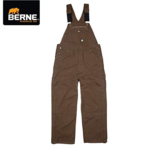 Berne Men's Unlined Washed Duck Bib Overall,