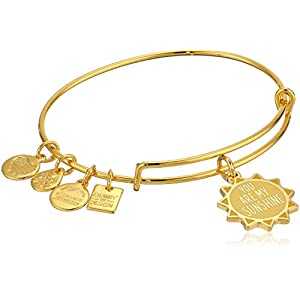 Alex and Ani Womens Charity By Design You Are My Sunshine Bangle