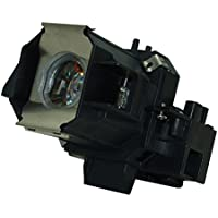 AuraBeam Epson PowerLite Home Cinema 720 Projector Replacement Lamp with Housing