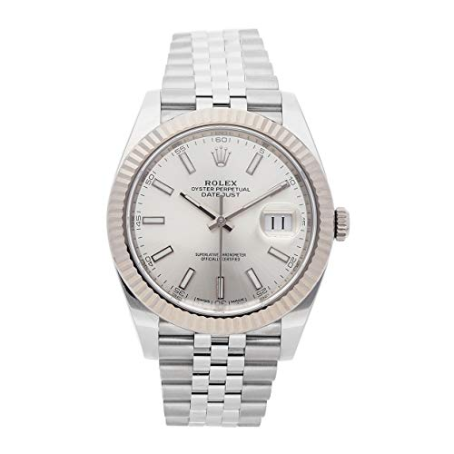 Rolex Datejust Mechanical (Automatic) Silver Dial Mens Watch 126334 (Certified Pre-Owned)