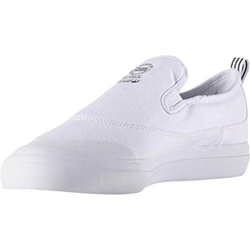 Adidas Originals Mens Matchcourt Slip Skate Schoen Ftwr Wit, Ftwr Wit, Ftwr Wit