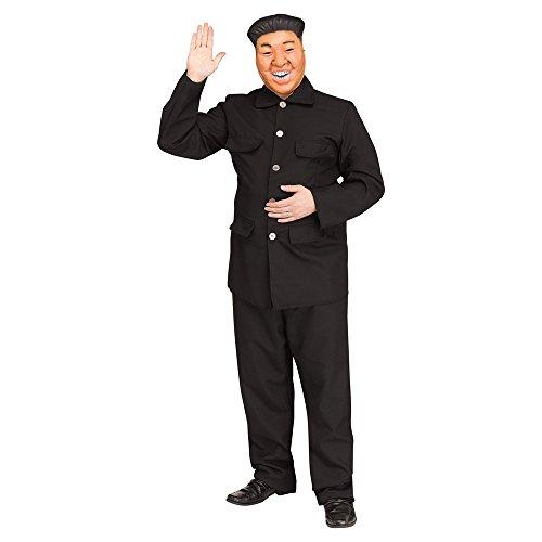 Fun World Men's Chairman, Black Plus Size up to 6'2