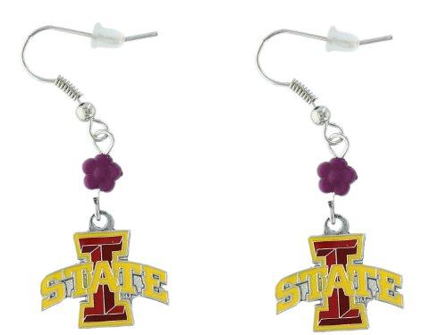 NCAA Iowa State Cyclones Sophie Beaded Earrings