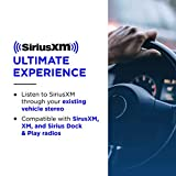 SiriusXM SXDV3 Satellite Radio Vehicle Mounting Kit with Dock and Charging Cable