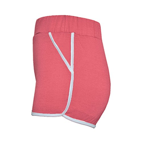 Pantaloncini Pants Moda Corti Jogging Rosso Hot Sport Minetom Donna Pilates Shorts Estate Scuro Spiaggia Yoga Pantaloni Di Casual Sexy p5BqSC