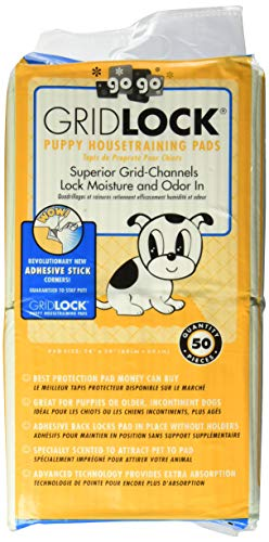 GoGo Pet Products Sticky Back Gridlock Training Pads (Gridlock Training Pads)