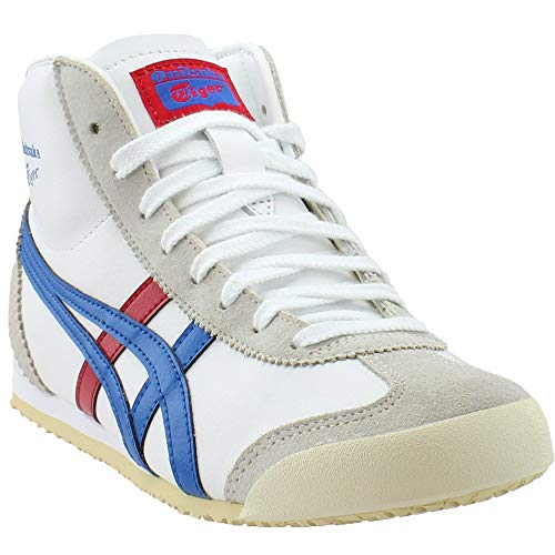 ASICS Mens Mexico Mid Runner Athletic & Sneakers White